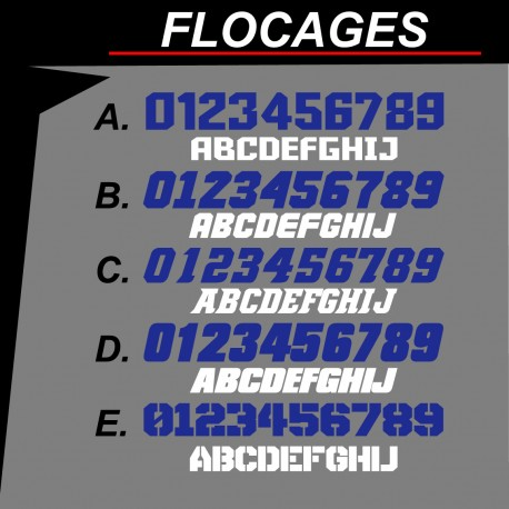 Flocage style 1