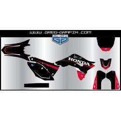 Kit déco motocross mud