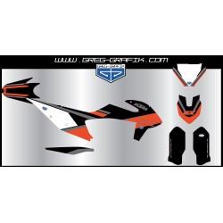 Kit déco motocross border