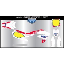 Kit déco motocross memories