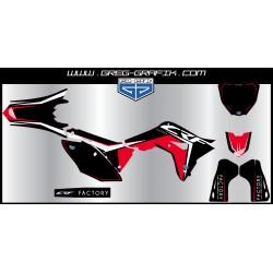 Kit déco motocross factory