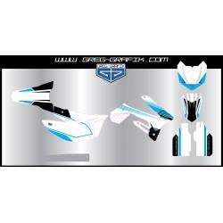 Kit déco motocross nuance
